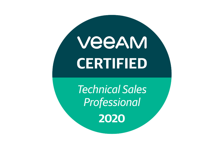 Veeam Certified Technical Sales Professional